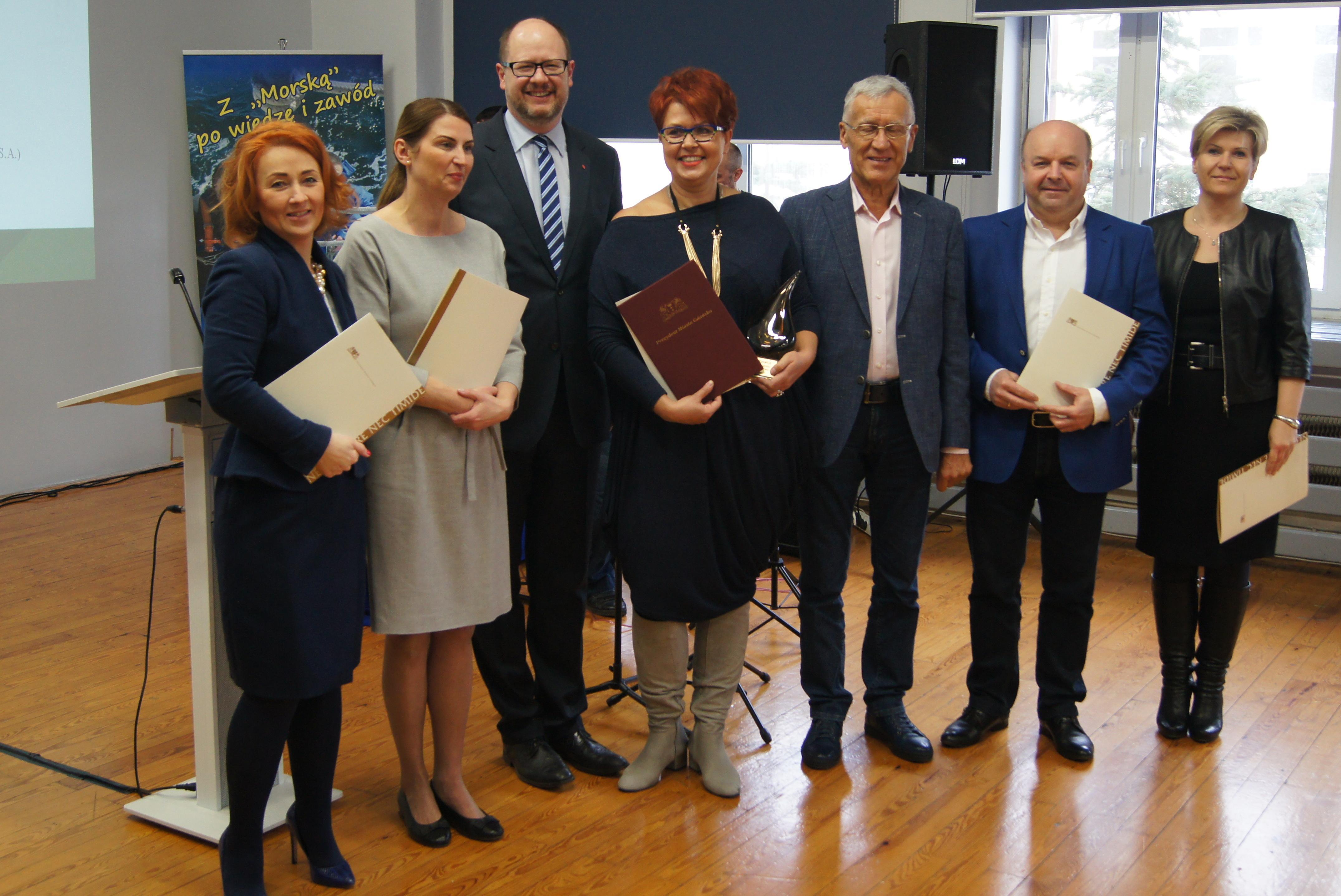 Nominacja do nagrody Pracodawca Przyjazny Gdańskiej Szkole Zawodowej